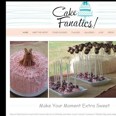 Cake Fanatics wedding vendor preview