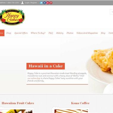 Hawaiian Happy Cakes wedding vendor preview