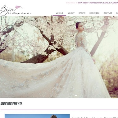Bijou Bridal & Special Occasion wedding vendor preview