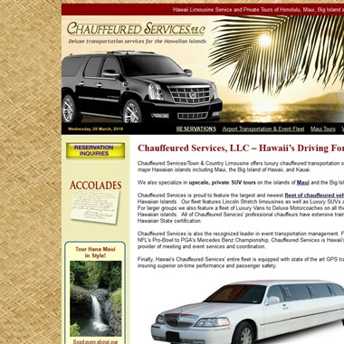 Chauffeured Services wedding vendor preview