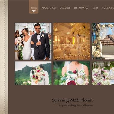 Spinning WEB Floral Design wedding vendor preview
