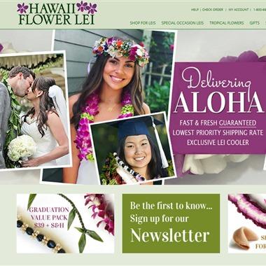 Hawaii Flower Lei wedding vendor preview