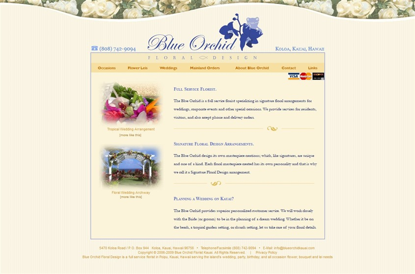 The Blue Orchid wedding vendor photo
