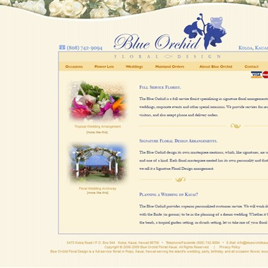 The Blue Orchid wedding vendor preview