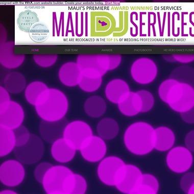 Maui DJ Services wedding vendor preview