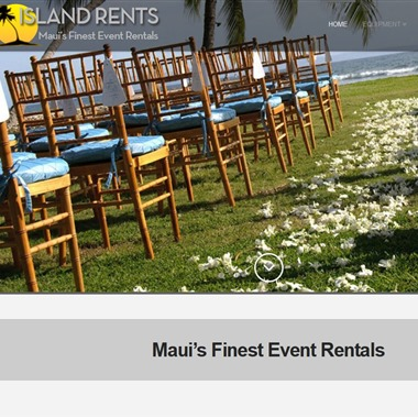 Island Rents wedding vendor preview