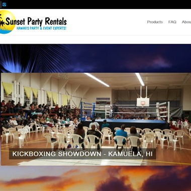 Sunset Party Rentals wedding vendor preview