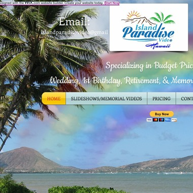 Island Paradise Video wedding vendor preview