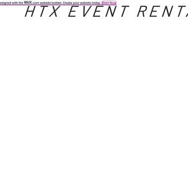 HTX EVENT RENTALS wedding vendor preview