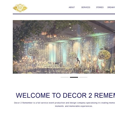 Decor 2 Remember wedding vendor preview