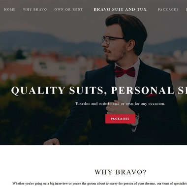 Bravo Suit & Tux wedding vendor preview