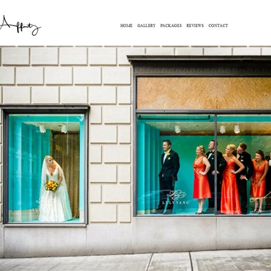 Affinity Photography  wedding vendor preview