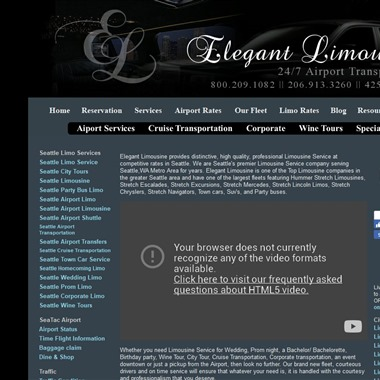 Elegant Limousines wedding vendor preview