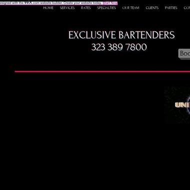 Exclusive Bartenders  wedding vendor preview
