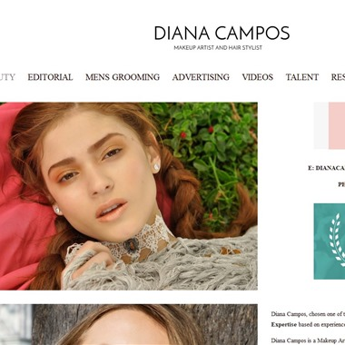 Diana Campos Make Up wedding vendor preview