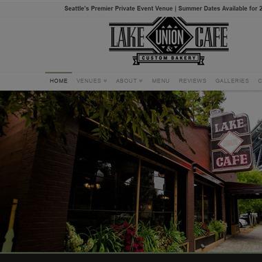 Lake Union Cafe wedding vendor preview