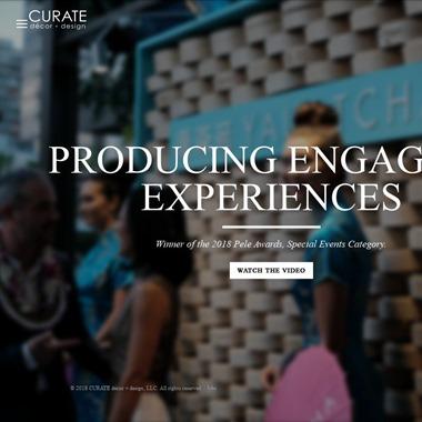 CURATE Decor & Design wedding vendor preview