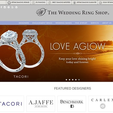 The Wedding Ring Shop wedding vendor preview