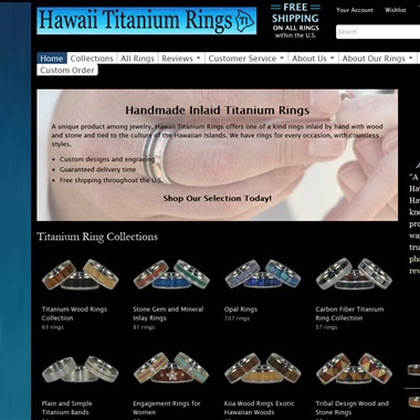 Hawaii Titanium Rings wedding vendor preview