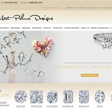 Robert Palma Designs wedding vendor preview