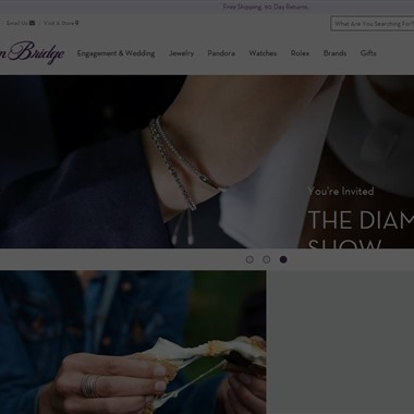 Ben Bridge Jeweler wedding vendor preview