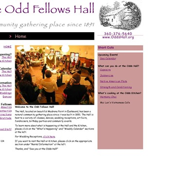 The Odd Fellows Hall wedding vendor preview