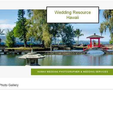Wedding Resource Hawaii wedding vendor preview