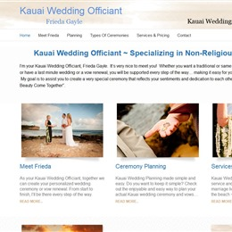 Kauai Wedding Officiant photo