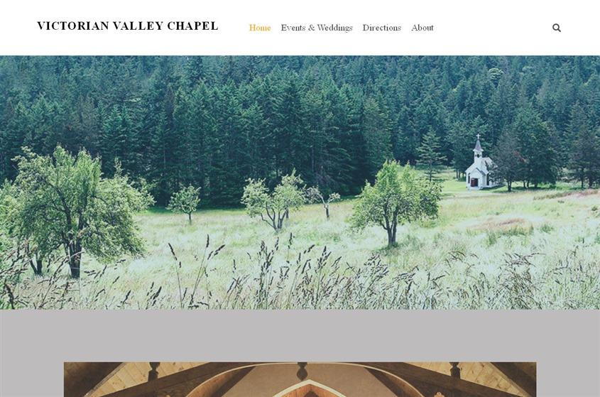 Victorian Valley Chapel wedding vendor photo