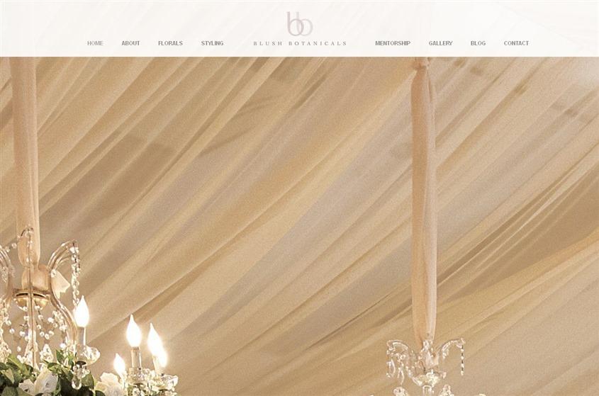 Blush Botanicals wedding vendor photo