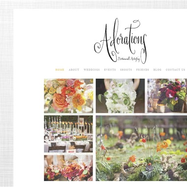 Adorations Botanical Artistry wedding vendor preview