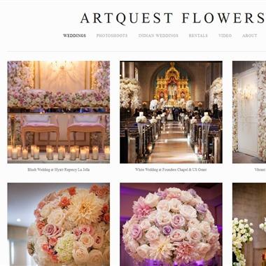 ArtQuest Floral Studio wedding vendor preview