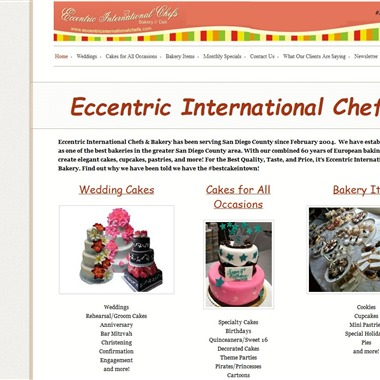 Eccentric International Chefs wedding vendor preview