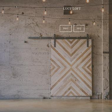 Luce Loft wedding vendor preview