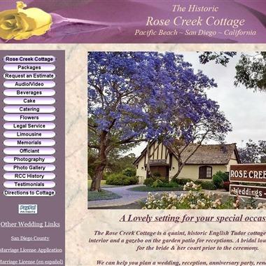 Rose Creek Cottage wedding vendor preview