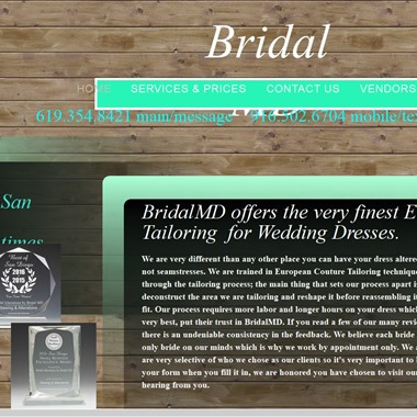 Bridal MD wedding vendor preview