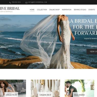 Archive Bridal wedding vendor preview
