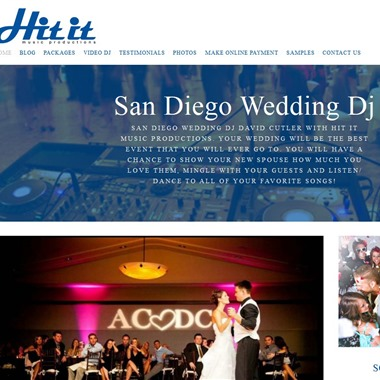 Hit It Music Productions wedding vendor preview