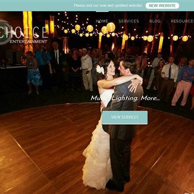 Choice Entertainment wedding vendor preview