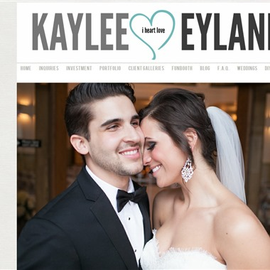 Kaylee Eylander Photography wedding vendor preview