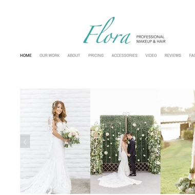 Flora Makeup & Hair wedding vendor preview
