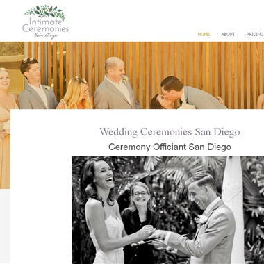 Intimate Ceremonies San Diego wedding vendor preview