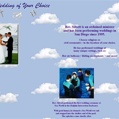 A Wedding of Your Choice wedding vendor preview