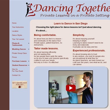 Dancing Together wedding vendor preview