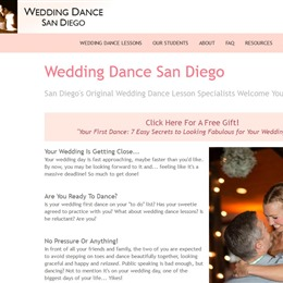 Wedding Dance San Diego photo