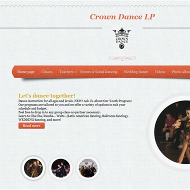Crown Dance Studio wedding vendor preview