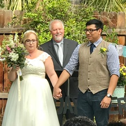 Rev. Jeffery Huss - Wedding Officiant  photo