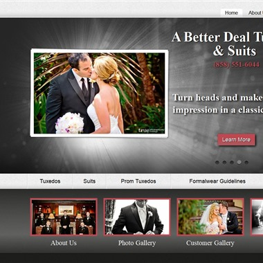 A Better Deal Tuxedos & Suits  wedding vendor preview