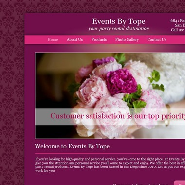 Events By Tope wedding vendor preview