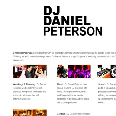 DJ Daniel Peterson wedding vendor preview